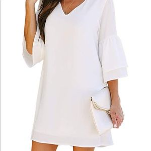 White Shift Dress - NWT! 👗 🏷